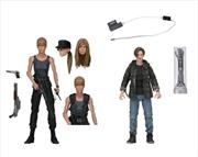 "Terminator 2 - Sarah & John Connor 7"" Action Figure 2-pack | Merchandise"
