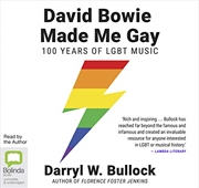 David Bowie Made Me Gay (compact Disc) | Audio Book