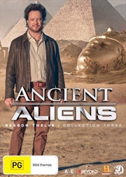 Ancient Aliens - Season 12 - Collection 3 | DVD