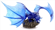 Dungeons & Dragons - Icons of the Realms Sapphire Dragon Premium Figure   Merchandise