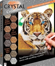 Crystal Creations: Jungle Tiger | Colouring Book