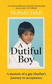 A Dutiful Boy | Paperback Book