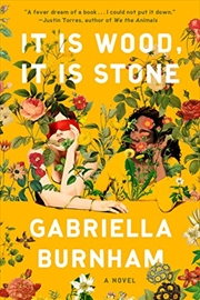 It Is Wood, It Is Stone: A Novel | Hardback Book