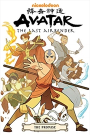 Avatar: The Last Airbender--the Promise Omnibus | Paperback Book