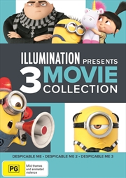 Despicable Me - 1, 2 And 3 | DVD