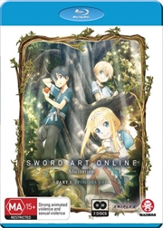 Sword Art Online - Alicization - Part 1 - Eps 1-13 | Blu-ray