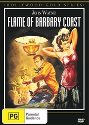 Flame Of Barbary Coast | DVD