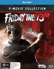 Friday The 13th Parts 1 - 8 / Friday The 13th | 9 Movie Franchise Pack | Blu-ray