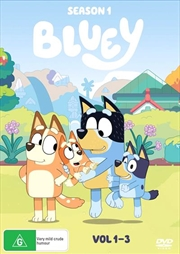 Bluey - Season 1 - Vol 1-3 | DVD