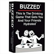 Buzzed Hydrated Edition Card Game | Merchandise
