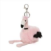 Flamingo Large Plush Keychain | Toy