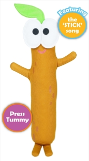 Singing Stickystick Softtoy | Toy