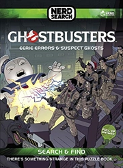 Ghostbusters Nerd Search: Eerie Errors And Suspect Ghosts | Hardback Book