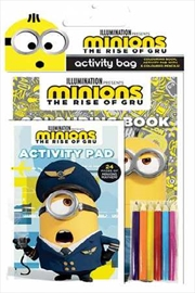 Minions The Rise Of Gru: Activity Bag | Paperback Book