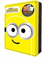 Minions The Rise Of Gru: Happy Tin | Paperback Book