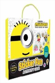 Minions The Rise Of Gru: Sticker Fun Activity Case   Paperback Book