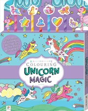 Unicorn Magic 10 Pencil Set | Colouring Book