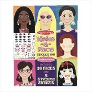 Make A Face: Fashion Faces | Books