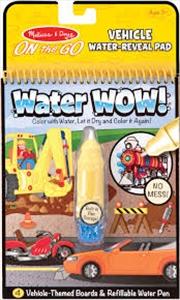 Water Wow: Vehicles | Books
