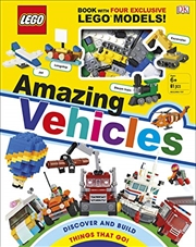 LEGO Amazing Vehicles | Hardback Book