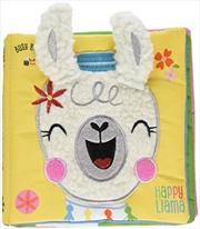 Happy Llama | Hardback Book