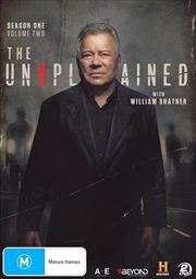 Unexplained With William Shatner - Season 1 - Vol 2, The | DVD
