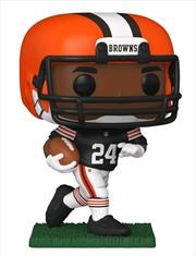 NFL: Cleveland Browns - Nick Chubb Pop! Vinyl | Pop Vinyl