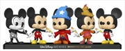 Mickey Mouse - Mickey Mouse US Exclusive Pop! Vinyl 5-Pack [RS] | Pop Vinyl