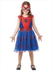 Spidergirl Dlx Tutu: 7-8 Yrs   Apparel