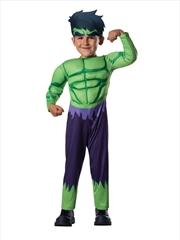Hulk Costume: Size S | Apparel