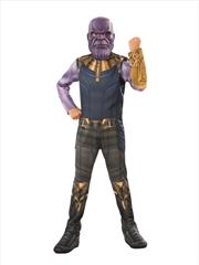 Thanos Costume: Size M 5-7yrs | Apparel