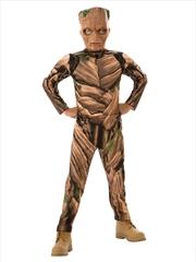 Kid Groot Costume: 5-7yrs   Apparel