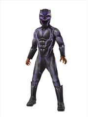 Black Panther Super Dlx: 8-10yr | Apparel