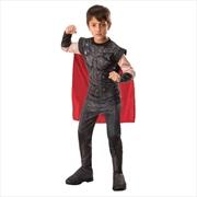 Thor Costume for Kids - Marvel Avengers: Endgame: Small | Apparel