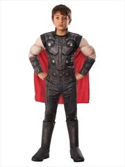 Thor Deluxe Costume for Kids - Marvel Avengers: Endgame: 3-4yrs | Apparel