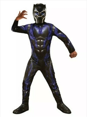 Black Panther Avengers 4 Deluxe Child Costume - Size S | Apparel