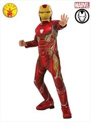 Kids Avengers: Endgame Deluxe Iron Man Mark 50 Suit Costume: Small | Apparel