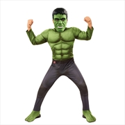 Hulk Deluxe Avengers Costume (Size For Age 3-4 Years) | Apparel