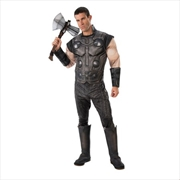 Thor Infinity War Muscle Chest Adult Marvel Avengers Superhero Costume: Size Std | Apparel