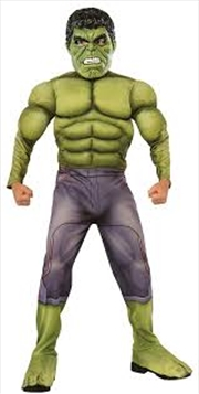 Hulk Deluxe Costume: Size S | Apparel
