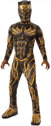 Eric Killmonger Battle Deluxe Costume - Size M | Apparel
