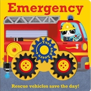 Emergency: Rescue Vehicles Save The Day (turn And Learn) [board Book] | Board Book