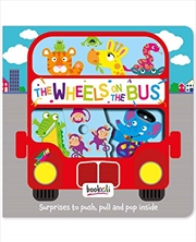 The Wheels On The Bus (push, Pull, Pop) | Board Book