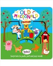 Old Macdonald (push, Pull, Pop) | Board Book