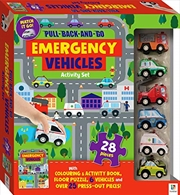 Pull-back-and-go: Emergency Vehicles | Books