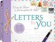 Hinkler Books Letters To You | Hardback Book