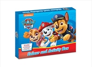 Paw Patrol Colour And Activity Box | Hardback Book