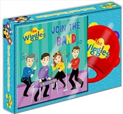 The Wiggles Join The Band Book And Tambourine | Hardback Book