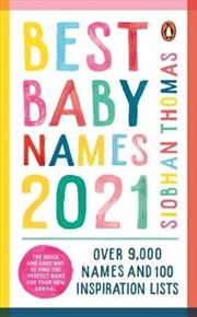 Best Baby Names 2021 | Paperback Book