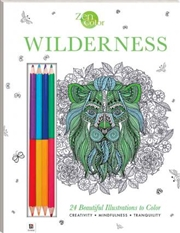 Zen Color: Wilderness | Colouring Book
